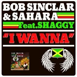 Bob Sinclar feat. Sahara and Shaggy I Wanna album single cover Made in Jamaica 2010 Costi Ionita and Andrea